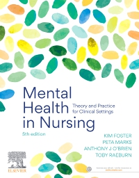 cover image - Mental Health in Nursing,5th Edition