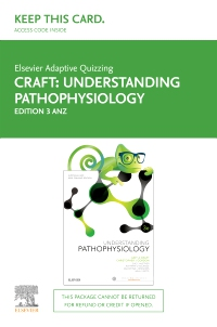 cover image - Elsevier Adaptive Quizzing for Understanding Pathophysiology Australia and New Zealand 3rd edition Access Card,3rd Edition