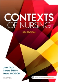 cover image - Contexts of Nursing - Elsevier e-Book on VitalSource,5th Edition