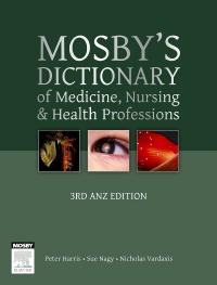 cover image - Evolve Resources for Mosby's Dictionary of Medicine, Nursing and Health Professions Australian & New Zealand Edition,3rd Edition