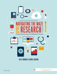 cover image - Navigating the Maze of Research - Evolve,4th Edition