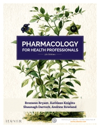 cover image - Evolve Resources for Pharmacology for Health Professionals,5th Edition