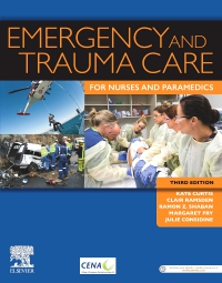 cover image - Evolve Resources for Emergency and Trauma Care for Nurses and Paramedics,3rd Edition