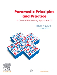cover image - Evolve resources for Paramedic Principles and Practice,2nd Edition