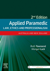 cover image - Evolve Resources for Applied Paramedic Law, Ethics and Professionalism, Second Edition