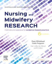 cover image - Evolve Resources for Nursing and Midwifery Research,6th Edition