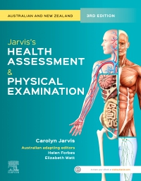 cover image - Evolve Resources for Jarvis's Health Assessment and Physical Examination,3rd Edition