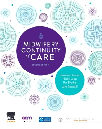 cover image - Evolve Resources for Midwifery Continuity of Care,2nd Edition