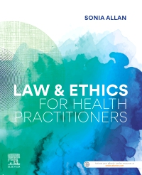 cover image - Evolve Resources for Law and Ethics for Health Practitioners