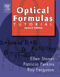 cover image - Optical Formulas Tutorial,2nd Edition