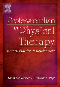 cover image - Professionalism in Physical Therapy