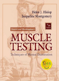 cover image - Evolve Resources for Daniels and Worthingham's Muscle Testing,7th Edition
