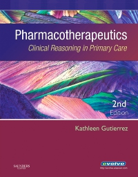cover image - Evolve Resources for Pharmacotherapeutics,2nd Edition
