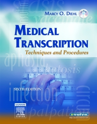 cover image - Evolve Resources for Medical Transcription,6th Edition