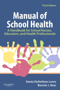 cover image - Manual of School Health,3rd Edition