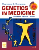 cover image - Evolve Resources for Thompson & Thompson Genetics in Medicine,7th Edition