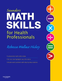 cover image - Evolve Resources for Saunders Math Skills for Health Professionals