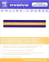 cover image - Clinical Skills Online for Medical Assistants (User Guide and Access Code)