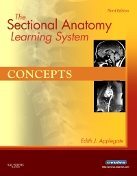 cover image - The Sectional Anatomy Learning System,3rd Edition