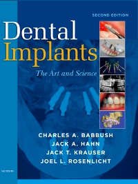 cover image - Dental Implants,2nd Edition