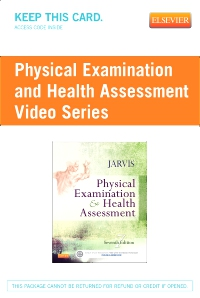 cover image - Physical Examination and Health Assessment Video Series (User Guide and Access Code)