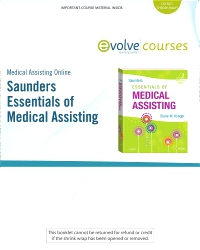 cover image - Medical Assisting Online for Saunders Essentials of Medical Assisting,2nd Edition