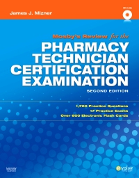 cover image - Mosby's Review for the Pharmacy Technician Certification Examination,2nd Edition