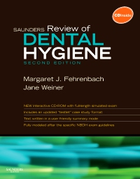 cover image - Saunders Review of Dental Hygiene,2nd Edition