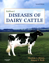 cover image - Rebhun's Diseases of Dairy Cattle - Elsevier eBook on VitalSource,2nd Edition