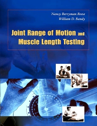 cover image - Joint Range of Motion and Muscle Length Testing - Elsevier eBook on VitalSource