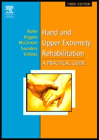 cover image - Hand and Upper Extremity Rehabilitation - Elsevier eBook on VitalSource,3rd Edition