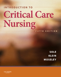 cover image - Introduction to Critical Care Nursing - Elsevier eBook on VitalSource,5th Edition