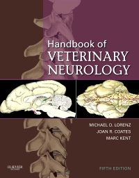 cover image - Handbook of Veterinary Neurology,5th Edition