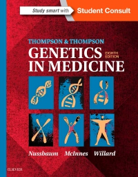 cover image - Thompson & Thompson Genetics in Medicine,8th Edition