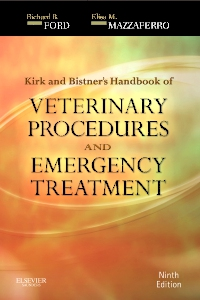 cover image - Kirk & Bistner's Handbook of Veterinary Procedures and Emergency Treatment,9th Edition
