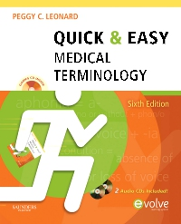 cover image - Quick & Easy Medical Terminology - Elsevier eBook on VitalSource,6th Edition