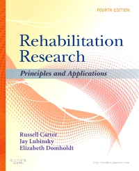 cover image - Rehabilitation Research - Elsevier eBook on VitalSource,4th Edition