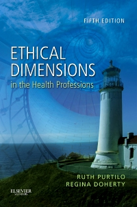 cover image - Ethical Dimensions in the Health Professions - Elsevier eBook on VitalSource,5th Edition
