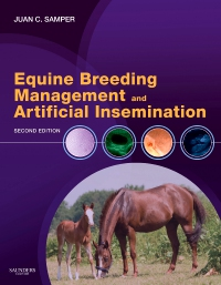 cover image - Equine Breeding Management and Artificial Insemination - Elsevier eBook on VitalSource,2nd Edition