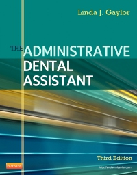 cover image - The Administrative Dental Assistant - Elsevier eBook on VitalSource,3rd Edition