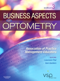 cover image - Business Aspects of Optometry,3rd Edition