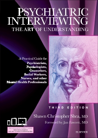 cover image - Psychiatric Interviewing,3rd Edition