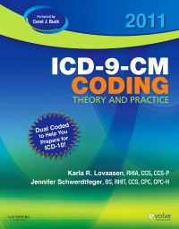 cover image - 2011 ICD-9-CM Coding Theory and Practice with ICD-10 - Elsevier eBook on VitalSource