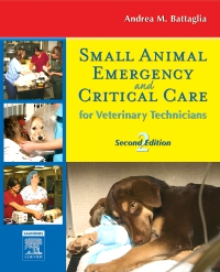 cover image - Small Animal Emergency and Critical Care for Veterinary Technicians - Elsevier eBook on VitalSource,2nd Edition
