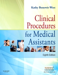 cover image - Clinical Procedures for Medical Assistants - Elsevier eBook on VitalSource,8th Edition