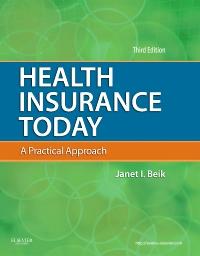 cover image - Heath Insurance Today - Elsevier eBook on VitalSource,3rd Edition