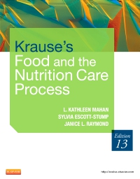 cover image - Krause's Food & the Nutrition Care Process - Elsevier eBook on VitalSource,13th Edition