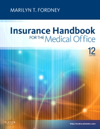 cover image - Insurance Handbook for the Medical Office - Elsevier eBook on VitalSource,12th Edition