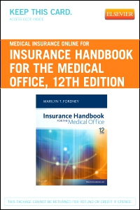 cover image - Medical Insurance Online for Insurance Handbook for the Medical Office,12th Edition