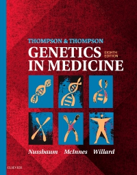 cover image - Evolve Resources for Thompson & Thompson Genetics in Medicine,8th Edition